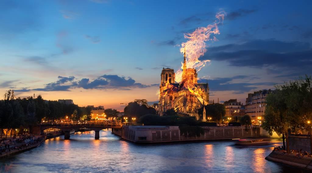Axa, la aseguradora de la empresa que restauraba Notre Dame